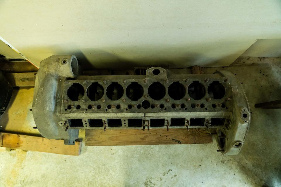 1934 Packard Crankcase w/ Crank & Cam