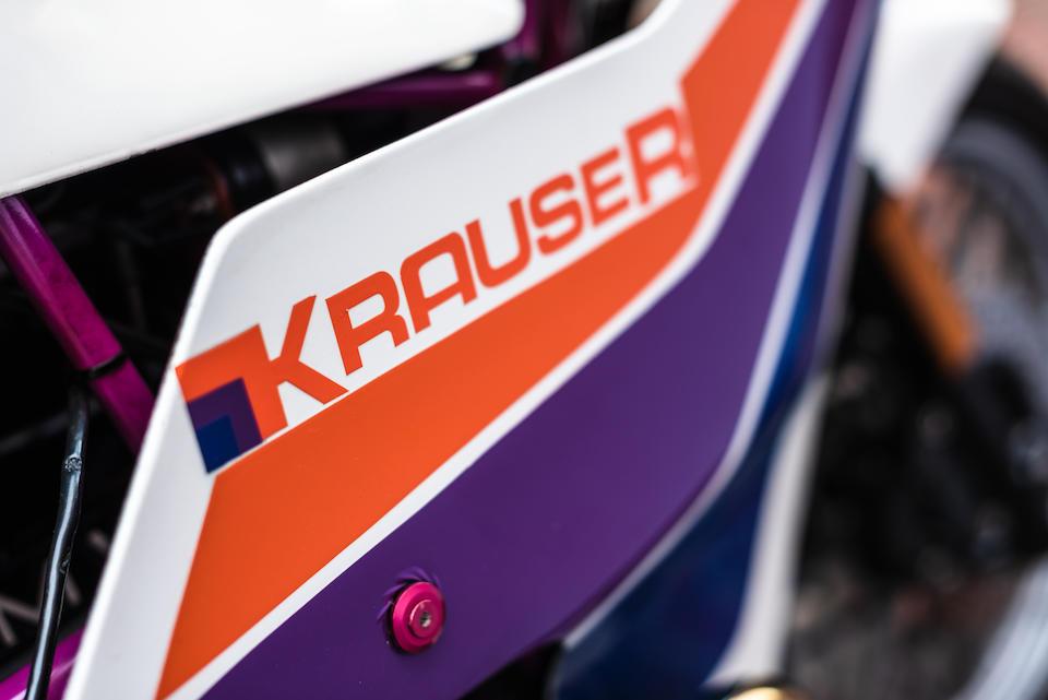 1983 Krauser MKM 1000 4-Valve Superbike Frame no. 1009283 Engine no. 6395287