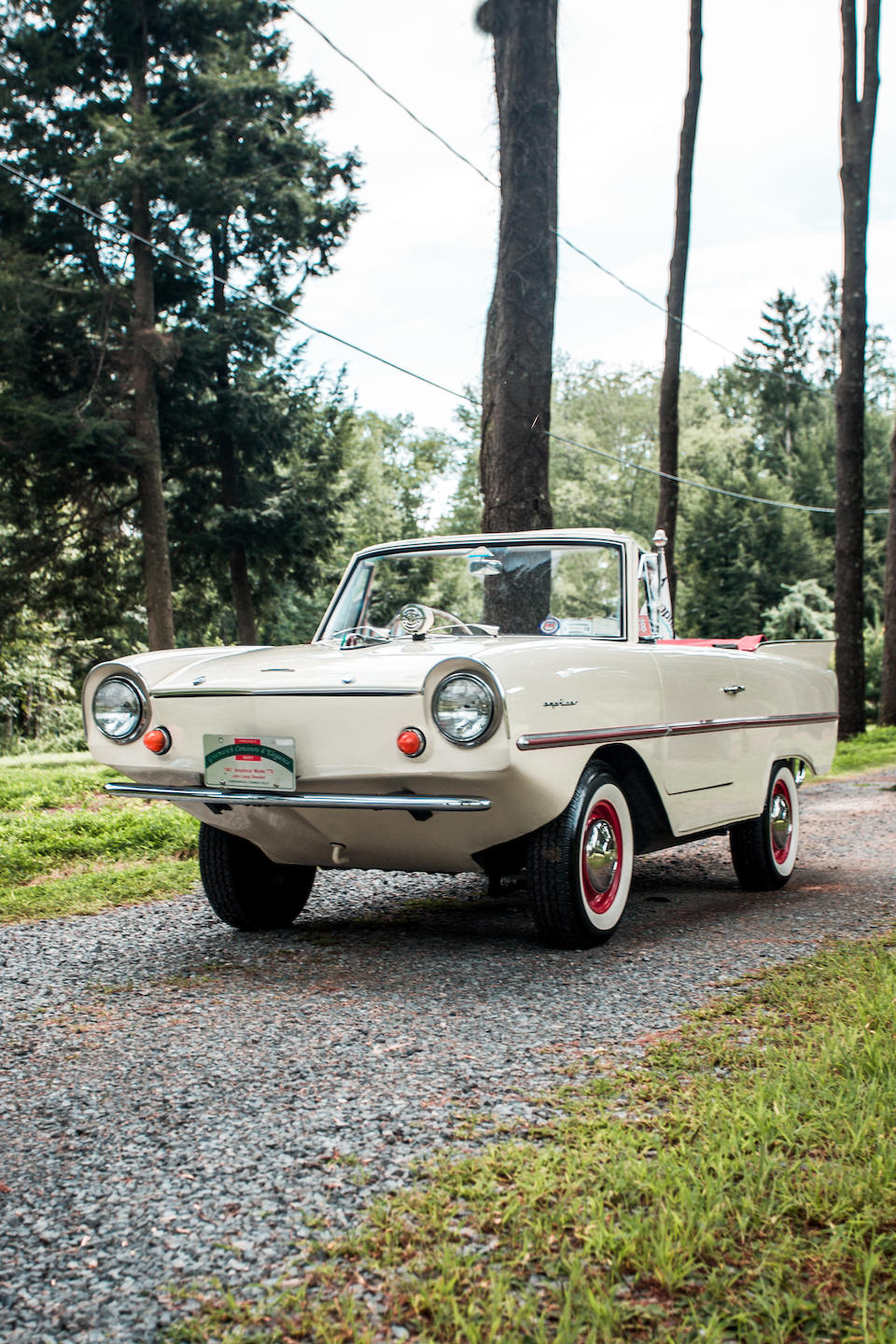<b>1967 Amphicar 770 Convertible</b><br />Chassis no. 200085<br />Engine no. FC90507HE