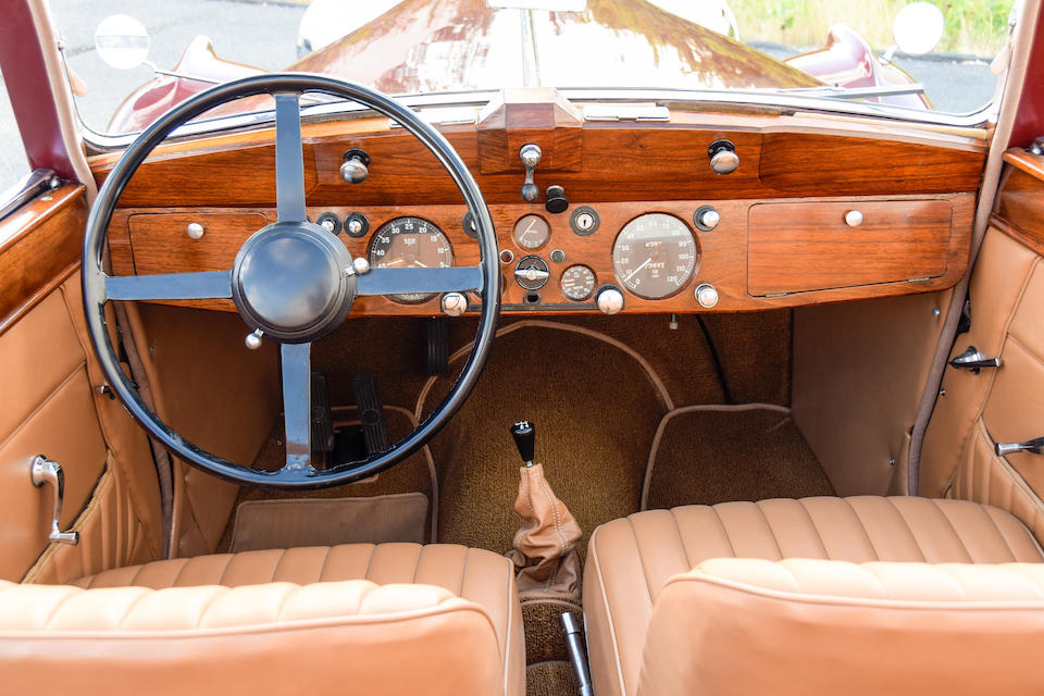 <b>1947 Jaguar Mk IV 3½ Liter Drophead Coupe</b><br />Chassis no. SL3157<br />Engine no. Z2059 (see text)