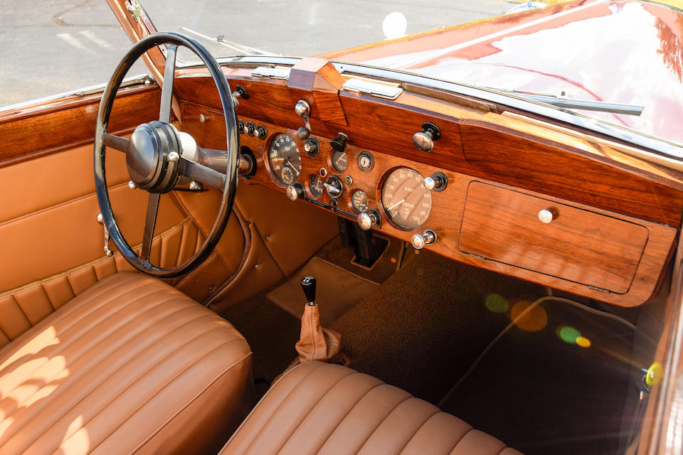 <b>1947 Jaguar Mk IV 3&#189; Liter Drophead Coupe</b><br />Chassis no. SL3157<br />Engine no. Z2059 (see text)