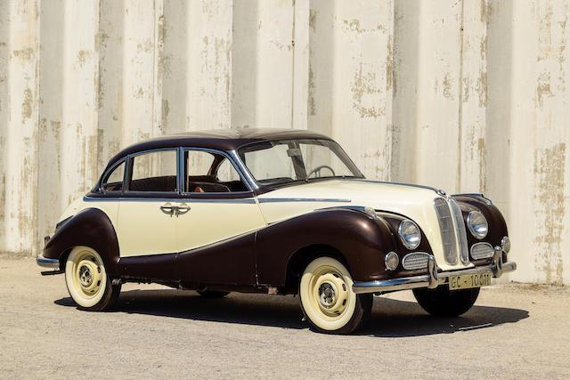 <b>1956 BMW 502 Sedan</b><br />Chassis no. 62416<br />Engine no. 2440