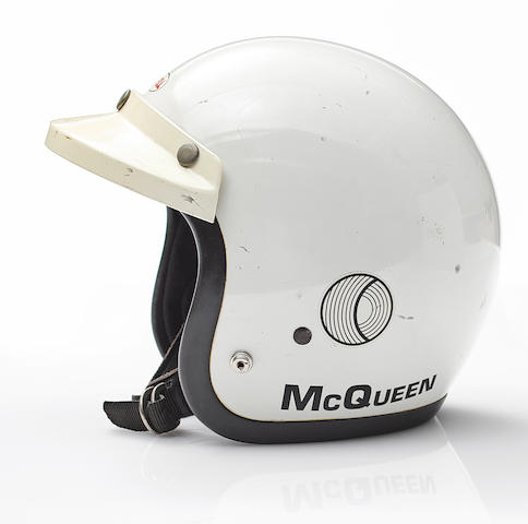 Formerlly owned by Steve McQueen,c.1970 Bell Motorcycle Helmet