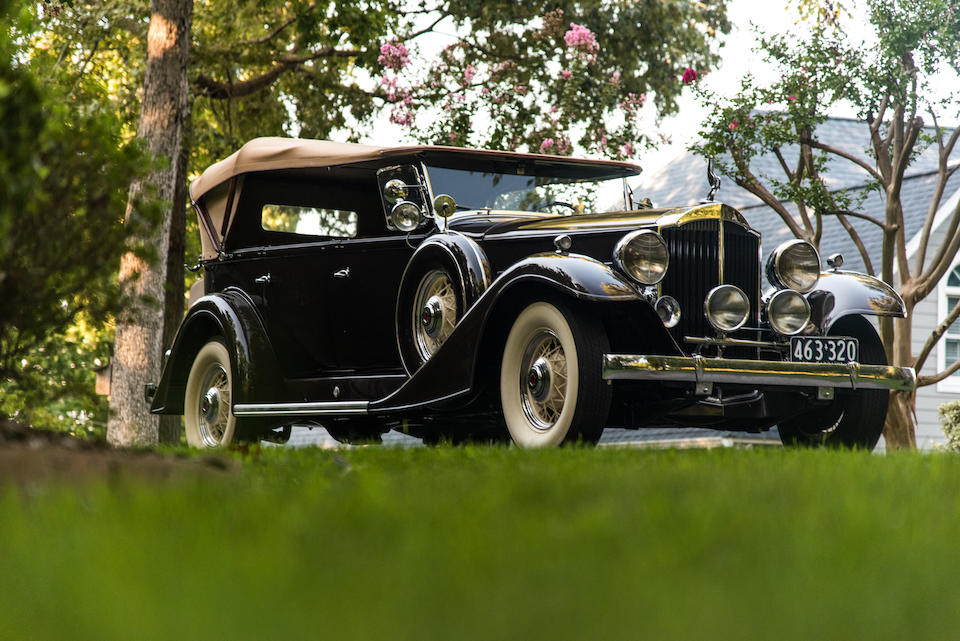 <b>1933 Packard Super Eight Model 1004 Touring Car</b><br />Engine no. 7508I4