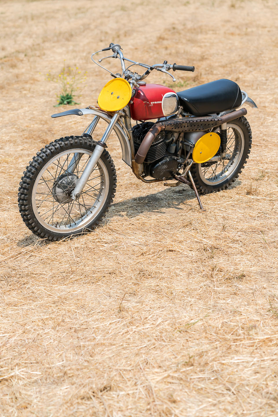"Owned and ridden by Steve McQueen in the film ""On Any Sunday"",1970 Husqvarna 400 Cross Frame no. MH1341 Engine no. 401124"
