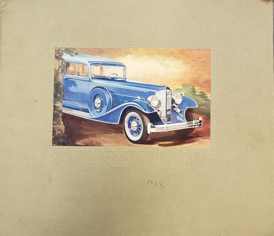 Packard 12 Catalogs
