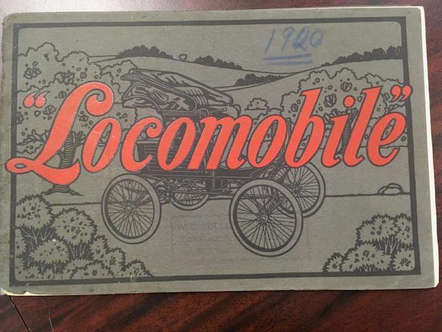 1900 Locomobile Steamer Catalog