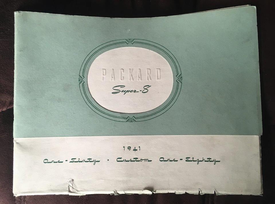 '29 & '41 Packard Catalogs