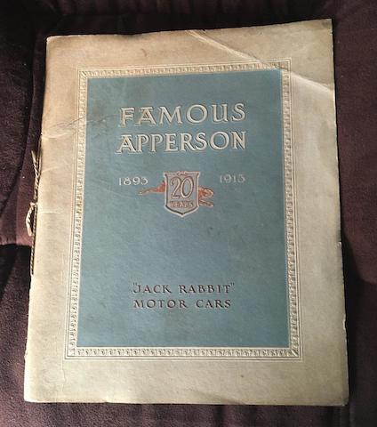 1913 Apperson Catalog