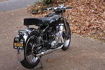 Formerly owned by Steve McQueen,1953 Vincent 498cc Comet Series-C Frame no. RC/1/8800/C Engine no. RF4A/2A/7900