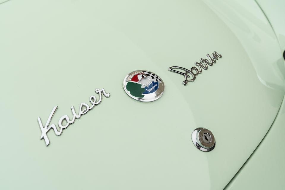<b>1954 Kaiser Darrin 161</b><br />Chassis no. 1611249