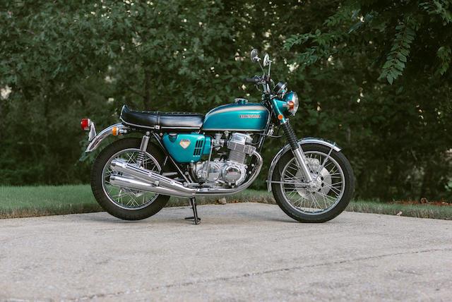 1969 Honda CB750 'Sand-Cast' Frame no. CB750-1006725 Engine no. CB750E-1006839