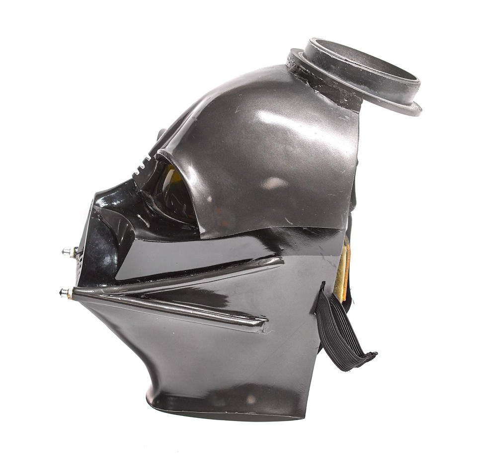 A complete Darth Vader costume from The Empire Strikes Back/Star Wars Episode V