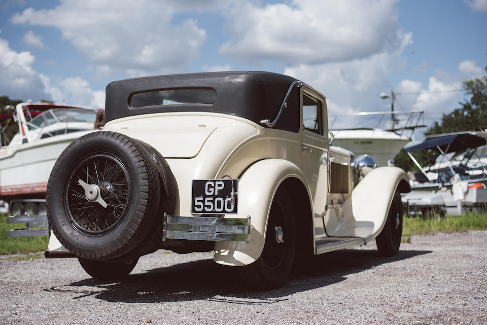 <b>1931 Isotta Fraschini Tipo 8A Two-Door Sports Coupe</b><br />Chassis no. 1676<br />Engine no. 1198 (see text)
