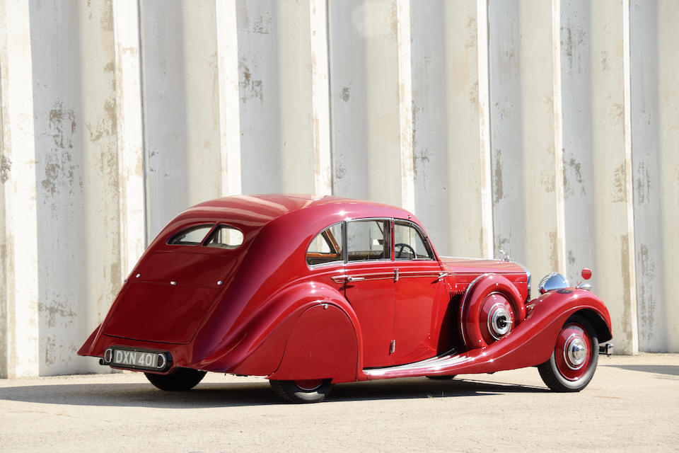 <b>1936 Bentley 4¼ LITER AIRFLOW SALOON</b><br />Chassis no. B118HK<br />Engine no. K2BY