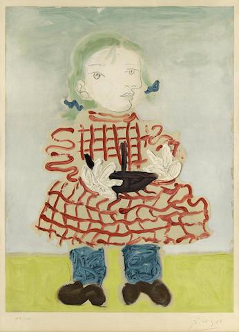 c139cb2dd7f Bonhams   After Pablo Picasso (1881-1973)  Portrait d une Fille (Maya)
