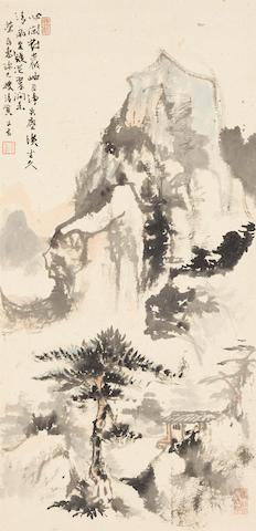 You Shaozeng (Jackson Yu, 1911-1999) Landscape