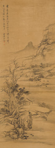 Attributed to Yang Jin (1644-1728) Spring Landscape