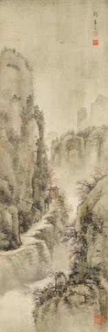 He Bingguan (20th century)  Spring Landscape