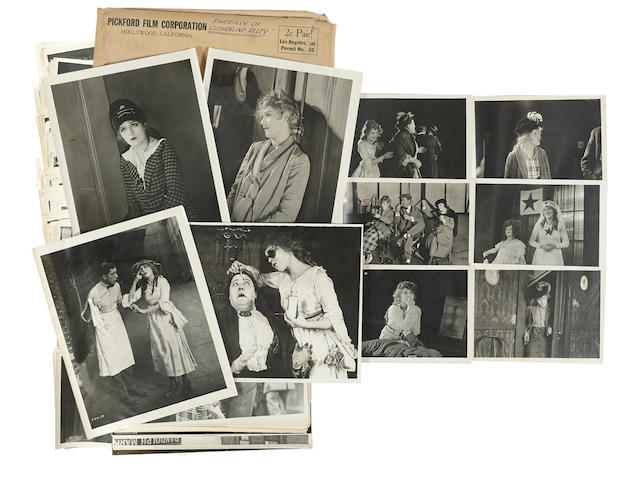 A Mary Pickford archive of photos pertaining to Amarilly of Clothes-Line Alley