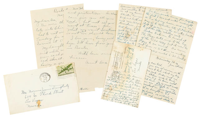 A Marilyn Monroe group of correspondence from Ana Lower
