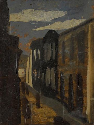 Man Ray (1890-1976) Scène de rue 10 1/16 x 7 11/16 in (25.5 x 19.6 cm) (Executed in 1952)