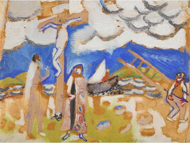 Marc Chagall, Etude pour le Golgotha (Le Mont Golgotha)