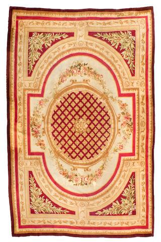 A Savonnerie carpetLate 19th/early 20th century