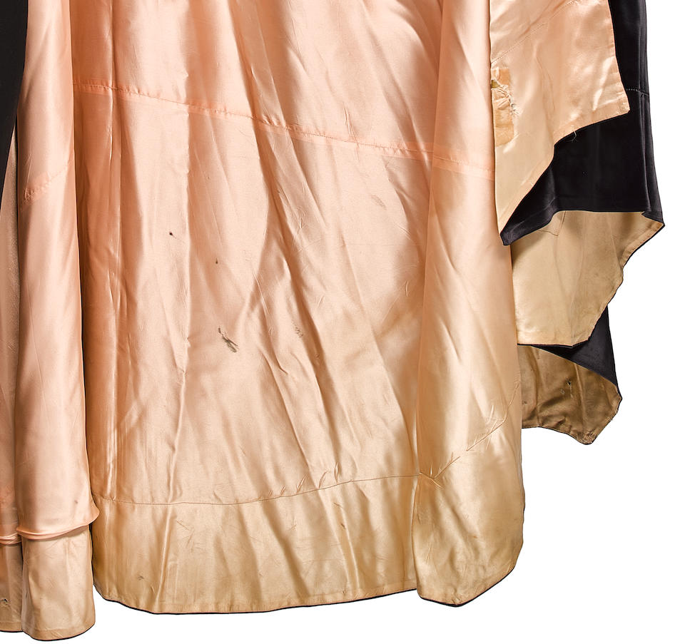 Bela Lugosi's Count Dracula cape from Abbott and Costello Meet Frankenstein