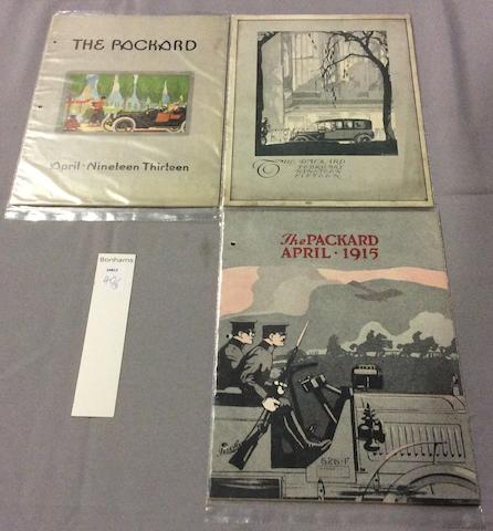 A Nice Grouping of Rare Packard Magazines