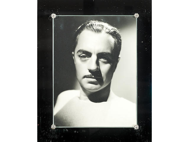 A William Powell portrait by George Hurrell