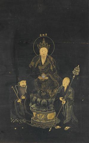 Anonymous (19th century) Ksitigarbha Bodhisattva