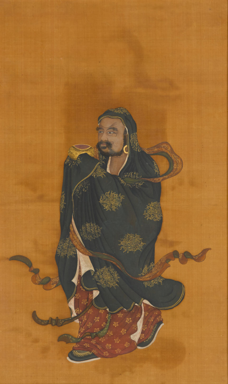 Anonymous (18th/19th century) A pair of Luohan paintings