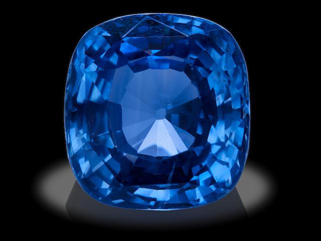 Large Blue Sapphire