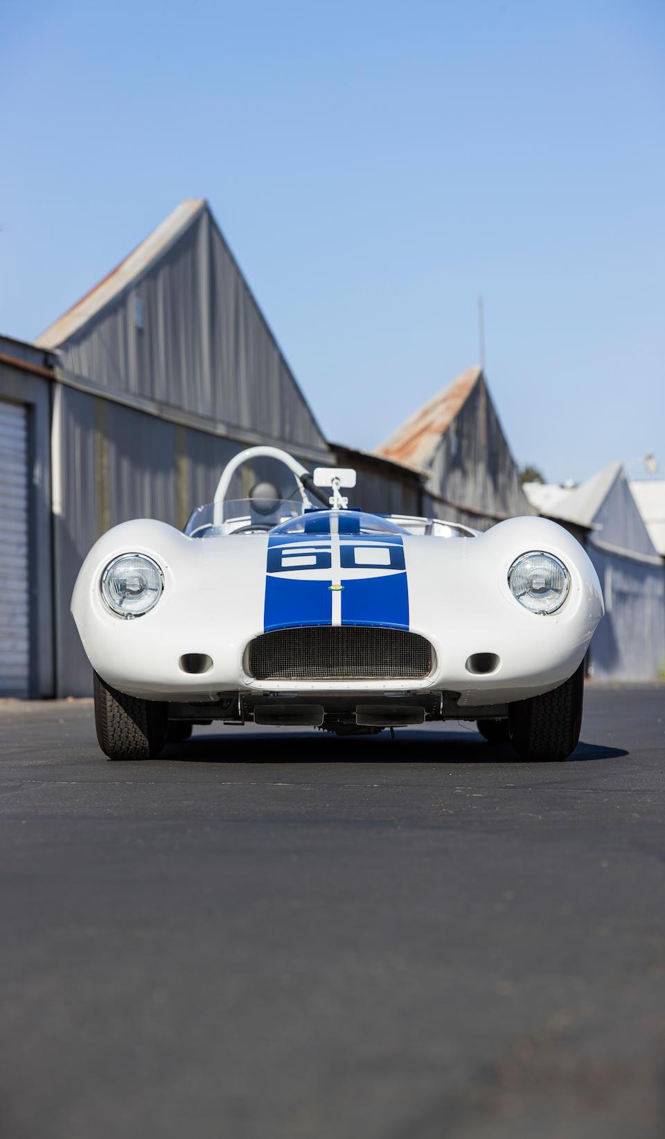 <b>1959 Lister-Jaguar Sports Racer</b><br />Chassis no. BHL 123<br />Engine no. LB2118-8