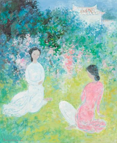 VU CAO DAM (1908-2000)  Le Printemps, 1984