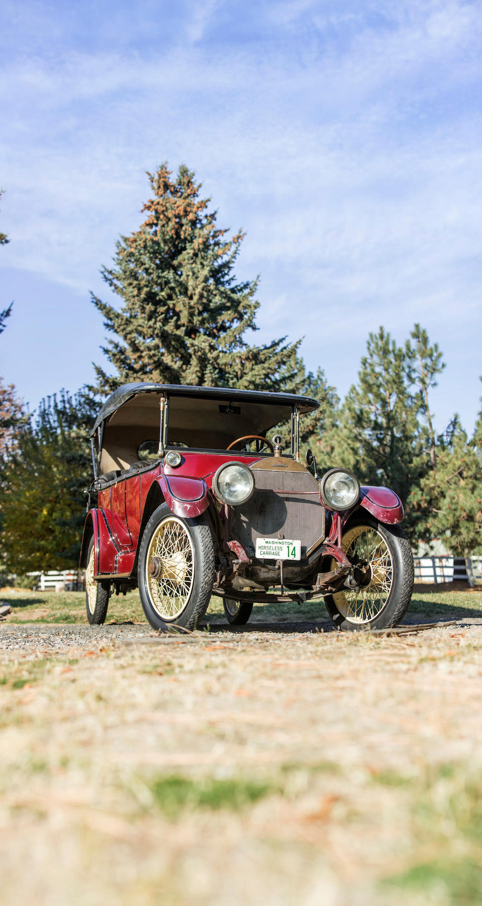 <b>1914 Stevens-Duryea Model DD Tourer</b><br />Chassis no. 32105<br />Engine no. 217-DD