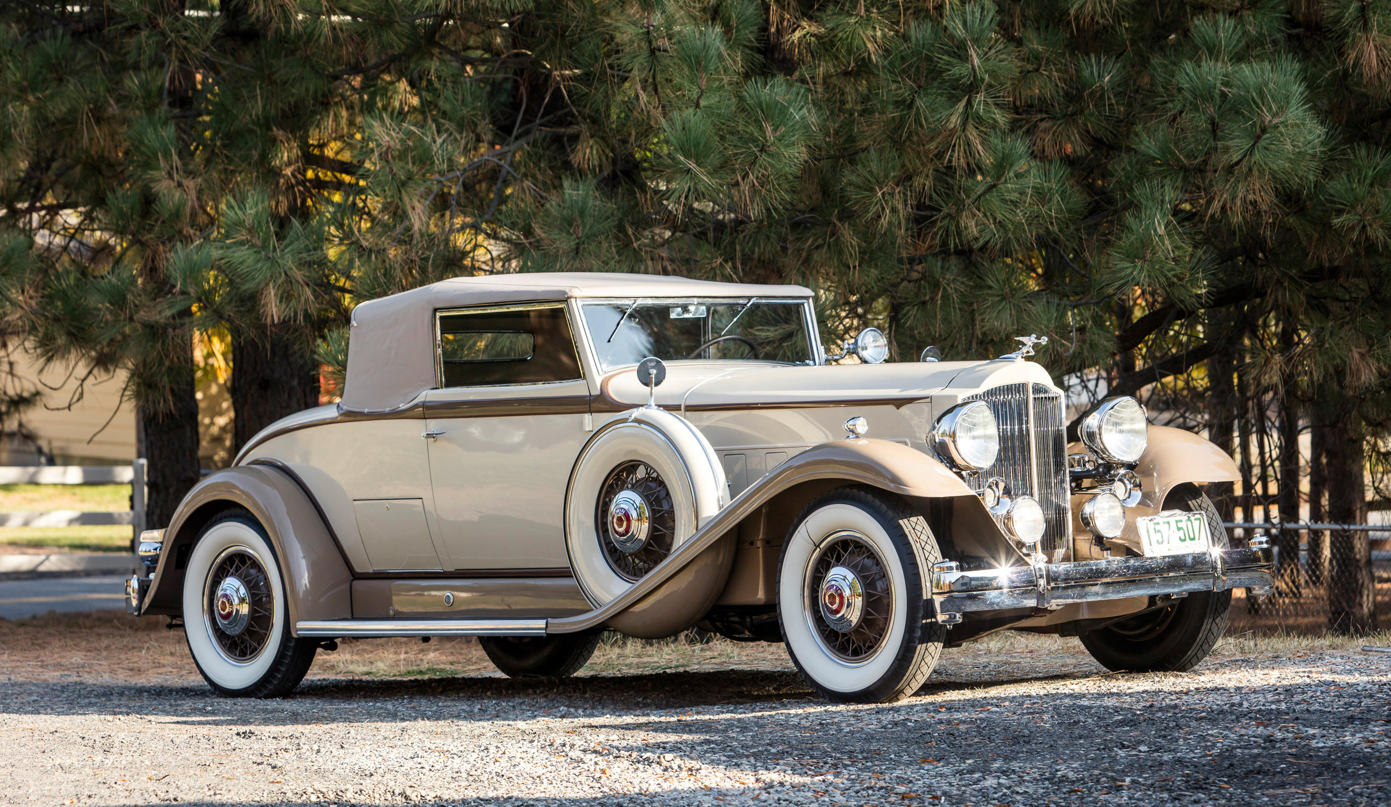 From the Private Collection of Skip Ritner 1932 Packard Twin-Six Coupe...