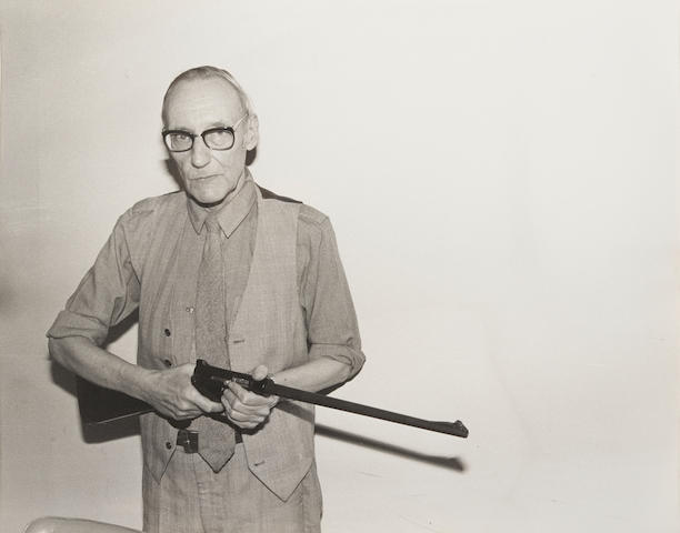BURROUGHS, WILLIAM. 1914-1997. Collection of 28 portraits of William Burroughs, all gelatin silver prints, as follows: