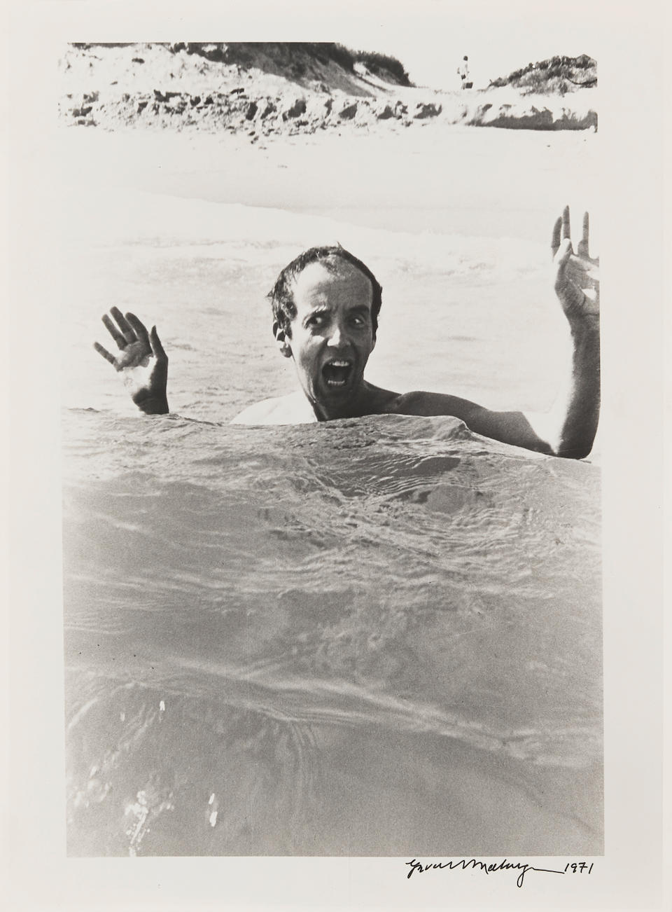 [BURROUGHS, WILLIAM. 1914-1997.] MALANGA, GERARD. B.1943. A Collection of 21 photographs, many including William Burroughs, all gelatin silver prints, all 8 x 10 inches on larger sheets, except where noted, including: