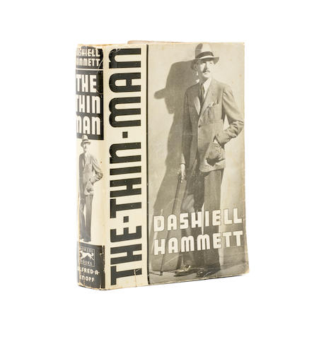HAMMETT, DASHIELL. 1894-1961. The Thin Man. New York: Alfred Knopf, 1934.