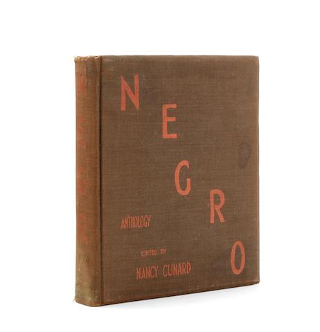 [SCHULBERG, BUDD. 1914-2009.] CUNARD, NANCY. 1896-1965. Negro Anthology London: Nancy Cunard at Wishart Company, 1934.