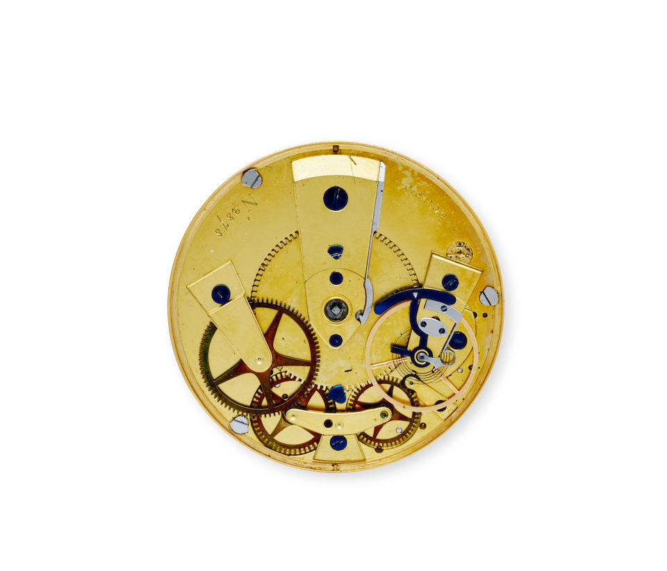 Breguet. An historically important gold  Montre à tact, presented by the Duke of Wellington to Commissary General William BoothBought by the Duke of Wellington July 8, 1815