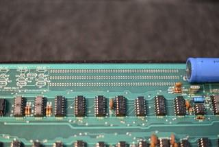 """Apple-1 COMPUTER. Apple 1 motherboard, with label """"Apple Computer 1 / Palo Alto. Ca. Copyright 1976,"""""""