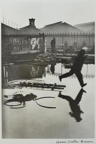 Henri Cartier-Bresson (1908-2004); Behind the Gare St.-Lazare;