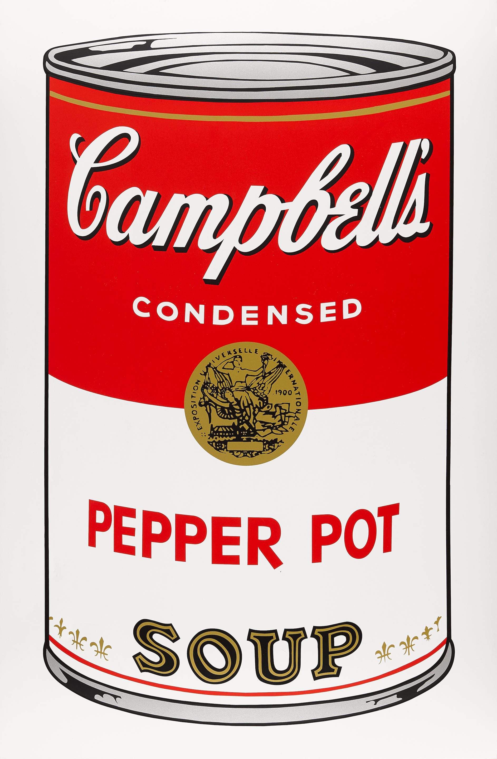 After Andy Warhol (1928-1987); Campbell's Soup Can 11.51;