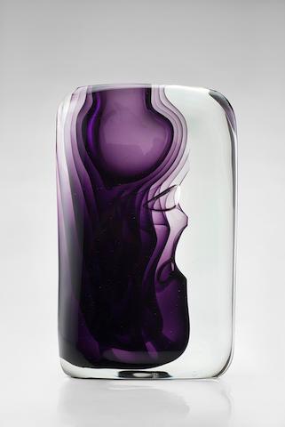Antonio da Ros Momento Exhibition vase, 1960 (Exhibited: XXX Biennale, Venice) h 26 cm