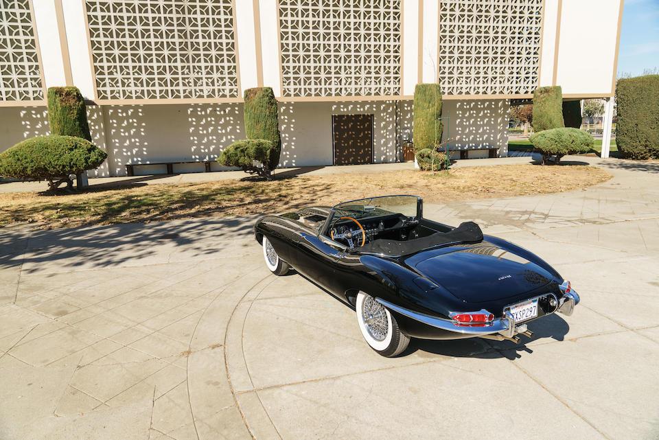 <b>1964 Jaguar E-Type Series 1 3.8 Roadster</b><br />Chassis no. 881715<br />Engine no. RA7144-9