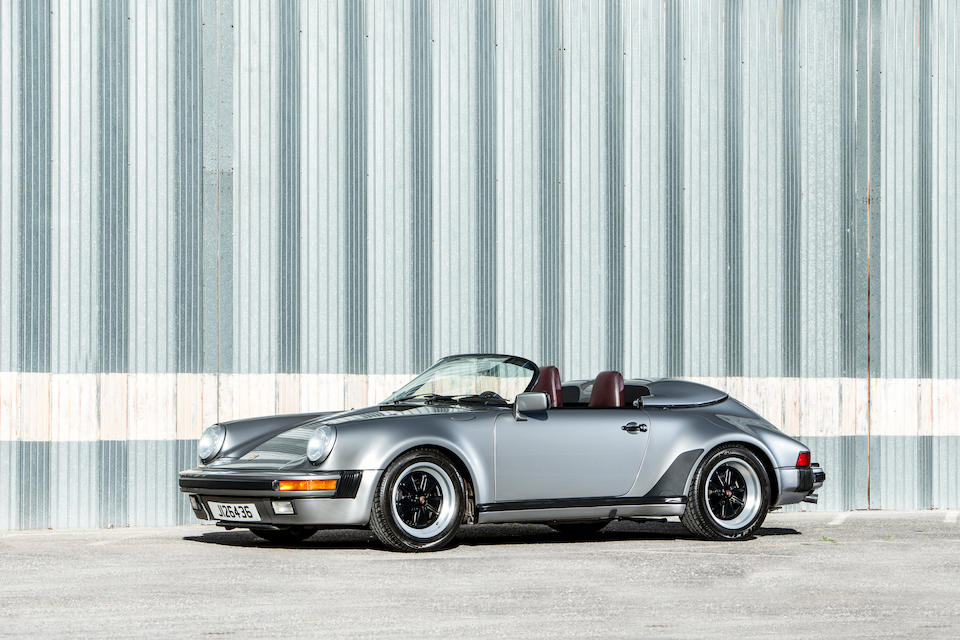 <b>1989 Porsche  911 Carrera Speedster</b><br />VIN. WP0ZZZ91ZKS173618<br />Engine no. 64K06240