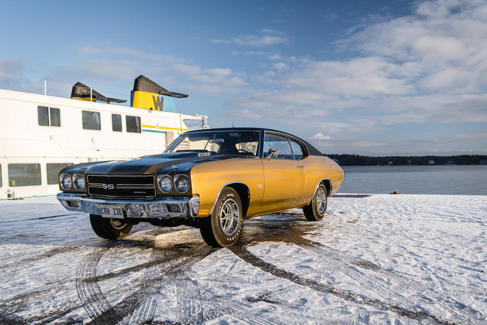 <b>1970 Chevrolet Chevelle 454 SS LS6</b><br />Chassis no. 136370A130493
